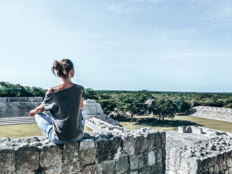 edzna-mexiko-maya-ruinen